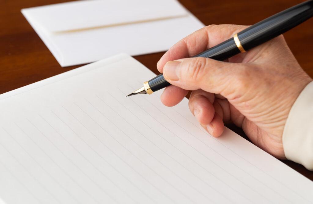 お悔やみの手紙とは?コロナ禍で葬儀に行けない場合は手紙を送ろう