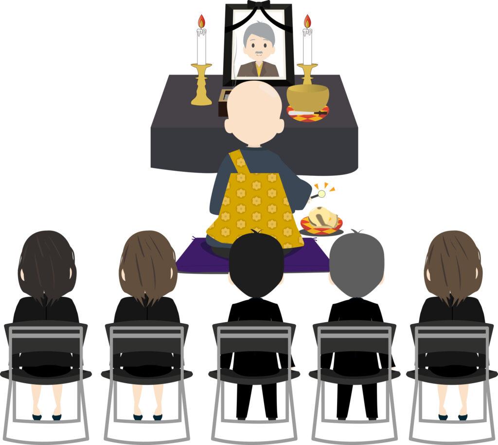 葬場祭の席次の座り方とは?葬儀の流れまでまとめ解説!